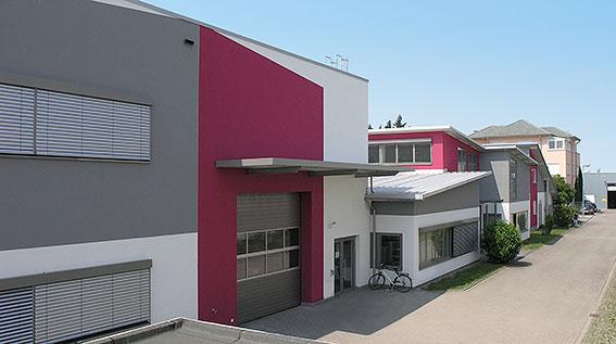 VisionTools Ausbau Produktion und Lager - neues Gebäude