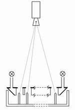 Schema Maskierte Steckerpin-Prüfung