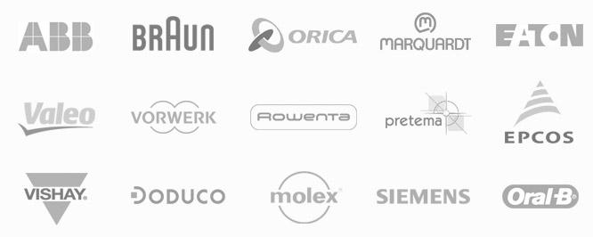 Referenzen Elektronikindustrie