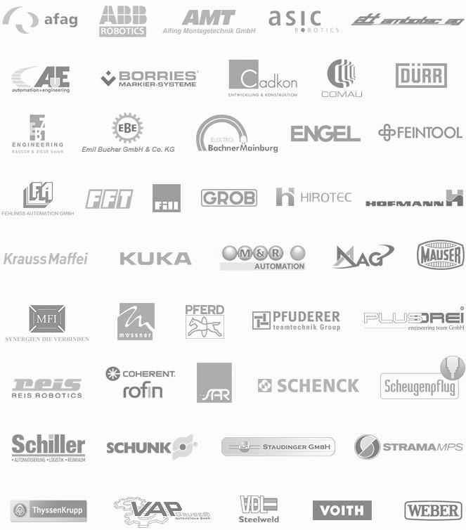 VisionTools Referenzen Industrieausrüster / Maschinenbau